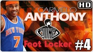 Carmelo Anthony schooling 8 year-olds / Foot Locker 4 kids