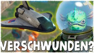 👽 WHAT IS WITH THE ALIENS? - Fortnite [German/German]