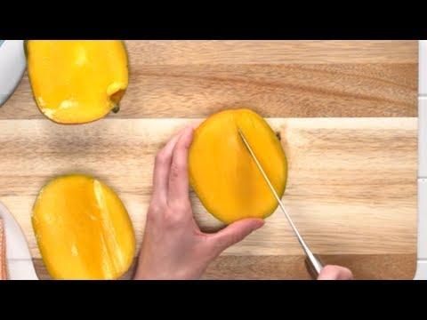 How To Cut A Mango