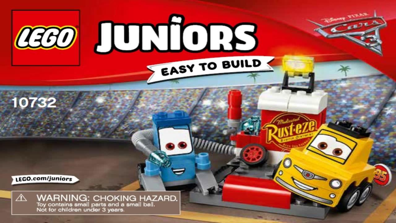 LEGO Juniors Guido and Luigi/'s Pit Stop 10732
