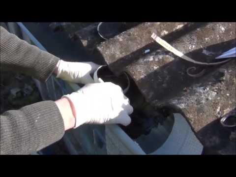 reparaturset f r dach und dachrinne youtube. Black Bedroom Furniture Sets. Home Design Ideas