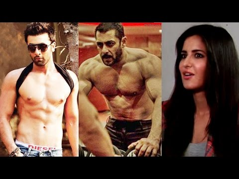 Katrina Kaif's reaction looking at Salman Khan & Ranbir Kapoor's pictures will SHOCK you!