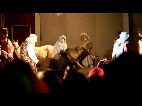 From the live Nativity event of Journey to Bethlehem 2011