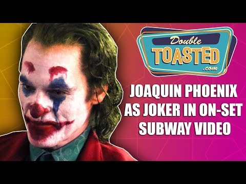 JOAQUIN PHOENIX AS JOKER IN SUBWAY VIDEO