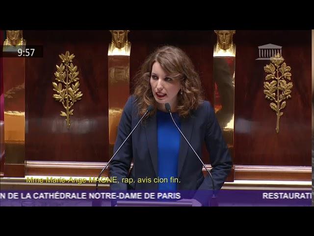 PJL Notre-Dame de Paris : examen en séance publique
