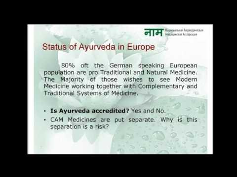 Ayurveda in Europe