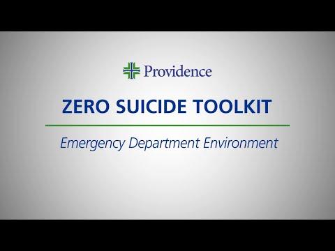 Zero Suicide Toolkit: Emergency Department Environment