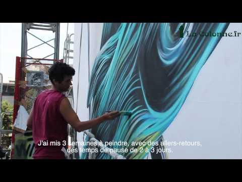 La plus grande fresque d'Europe Street art est à Paris !