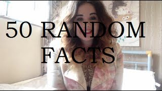 50 Random Facts Tag! Thumbnail