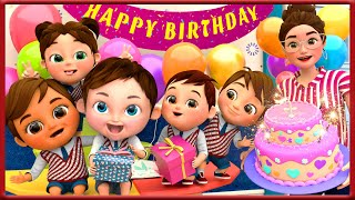 🔴 Baby Shark , Happy Birthday Song , Wheels on the Bus , Thanksgiving song  - Banana Cartoon