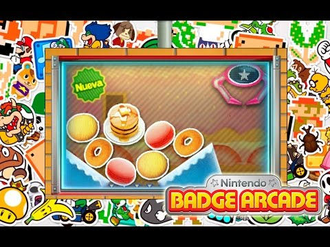 Comida de Tomodachi Life - Nintendo Badge Arcade (Europa)