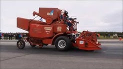 Maailman nopein puimuri ? 1/4 Mile 15,9@134,75 km/h World fastest  combine harvester