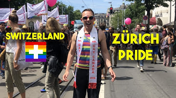Visiting Switzerland during Zurich Pride! 🇨🇭🏳️‍🌈