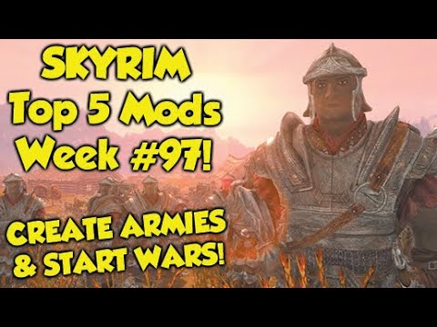 Skyrim Top 5 Mods of the Week #97 (Xbox One Mods)