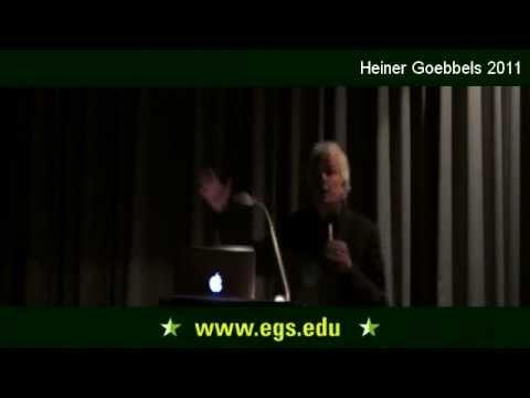 Heiner Goebbels. The aesthetics of absence. 2011