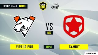 Virtus.pro vs Gambit Esports (игра 1) BO3   ESL One Los Angeles   Online