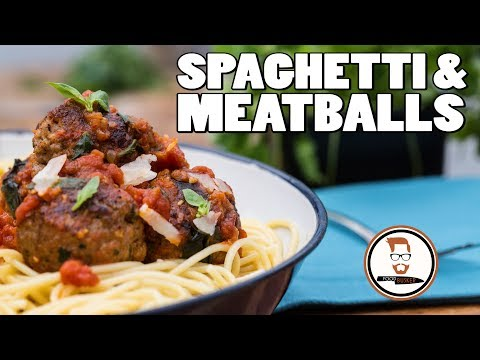 MEATBALLS AND SPAGHETTI RECIPE | Italian-Inspired Tomato Pasta