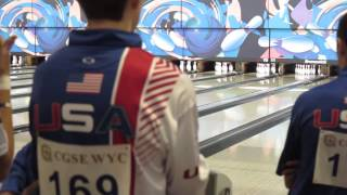 Wesley Low (USA) shoots 300 at 13th CGSE World Youth Championships