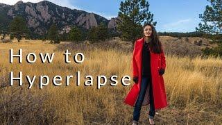 How to Hyperlapse