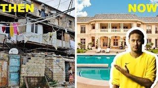 10 Footballers Houses | Then & Now | Ft. Messi, Ronaldo, Neymar...etc