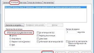 Cómo iniciar Windows 7,8  en modo seguro sin pulsar F8 (msconfig)