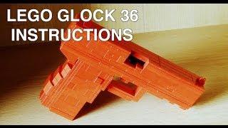 Lego Glock 36 instructions / tutorial / howto