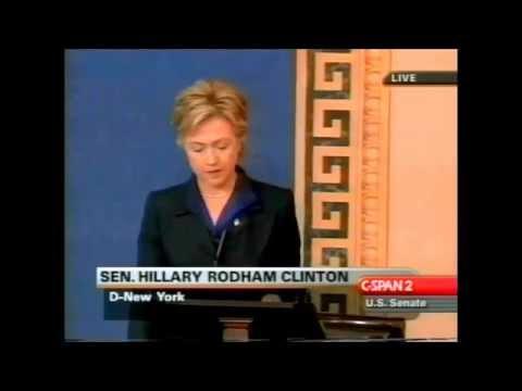 Hillary Clinton vs. Bernie Sanders on Whether to Invade Iraq - 2002