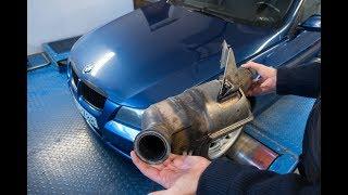 Totalcar Erőmérő: A részecskeszűrő megfojtotta, a tulaj kiszabadította a BMW-t