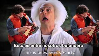 doc brown vs doctor who erboh 2 sub espaol