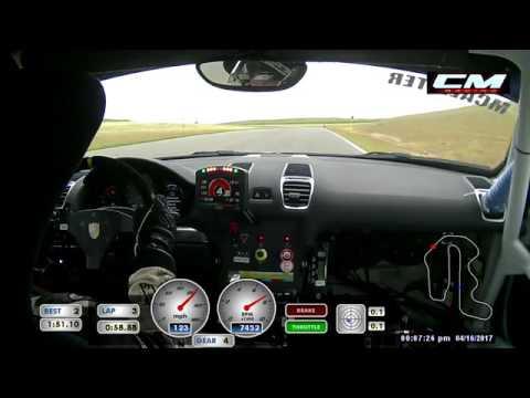 2017 Pirelli GT3 Cup Porsche Cayman GT4 Clubsport Qualifier at Thunderhill Raceway Park (2 of 16)