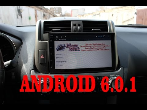 Android 6.0.1 Toyota Prado 150 (2009-2013) автомагнитола MegaZvuk AD-9034