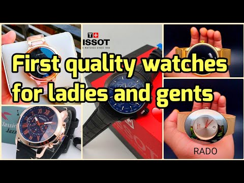 First Quality Of Branded Watches For Ladies And Gents ||  Rado Wtches|| Tissot, Police Watches