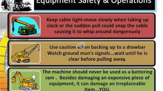 Heavy Equipment Safety Version youtube version 4,0