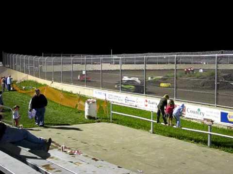 powder puff race warren county speedway 08-29-09