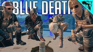 PUBG: BLUE DEATH - PlayerUnknown's Battlegrounds Gameplay (WTF RULES)
