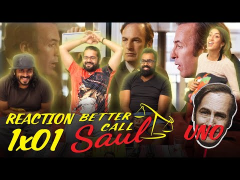Better Call Saul - 1x1 Uno - Group Reaction (Skit)