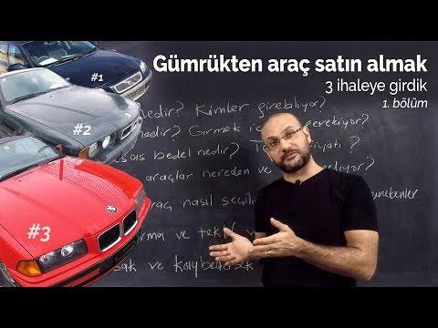 Gümrükten Otomobil Nasıl Satın Alınır? (1.Bölüm) | 3 TASİŞ İhalesine Girdik.