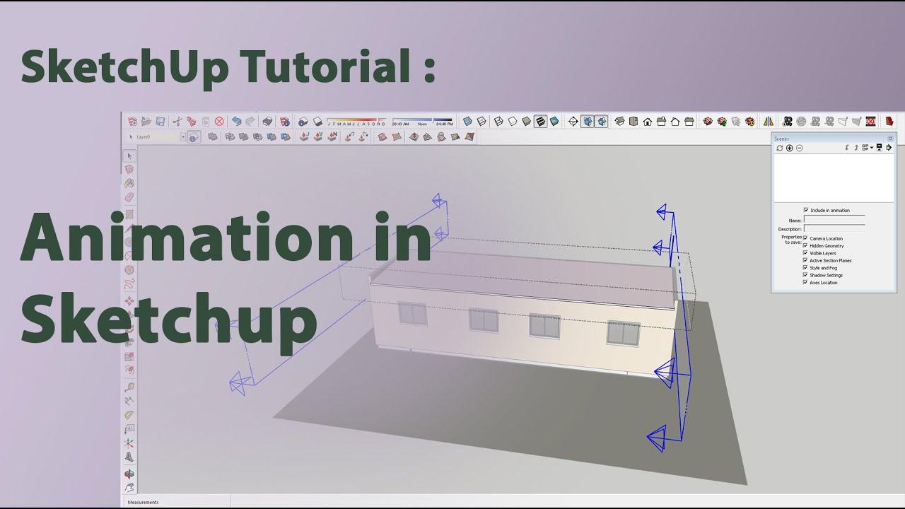 Sketchup video tutorials youtube