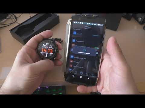 Подключаем смарт часы L5 к андроид смартфону.