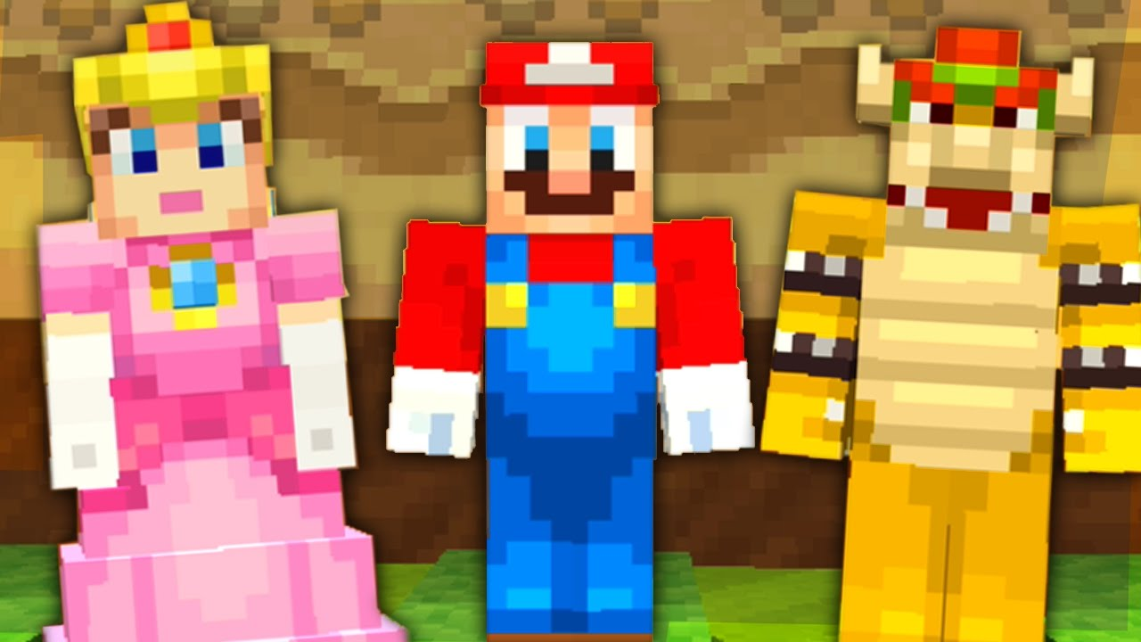 Minecraft for Nintendo Switch - All Super Mario Skins – Aaronitmar