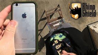 iPhone 6s Extreme Drop Test w/ Rhino Shield Crash Guard