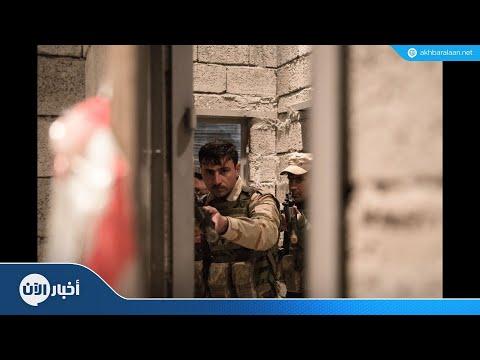 اعتقال 13 فردا من داعش غرب الموصل  - نشر قبل 23 ساعة