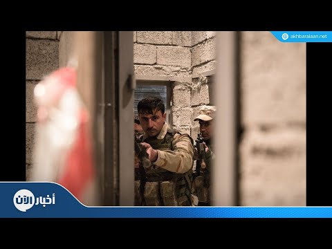 اعتقال 13 فردا من داعش غرب الموصل  - 22:54-2018 / 11 / 18