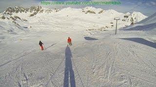 видео Где в Австрия покататься на горных лыжах