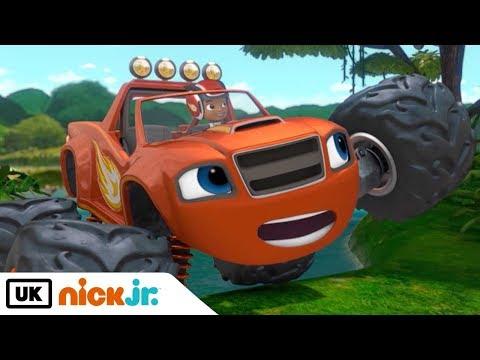 Blaze and the Monster Machines   Animal Island   Nick Jr. UK