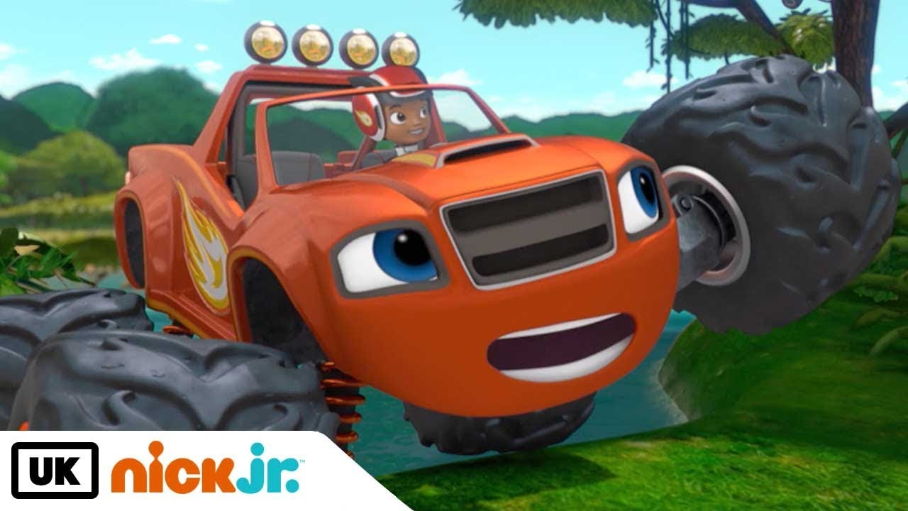Blaze and the Monster Machines | Animal Island | Nick Jr. UK