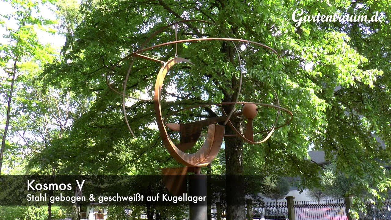 kinetische skulpturen von michael ernst gartenskulpturen botanischer garten jena 2015 youtube