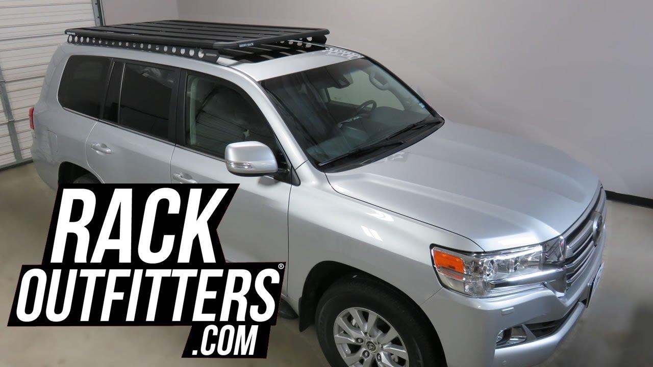 Toyota Land Cruiser With Rhino Rack Backbone Pioneer