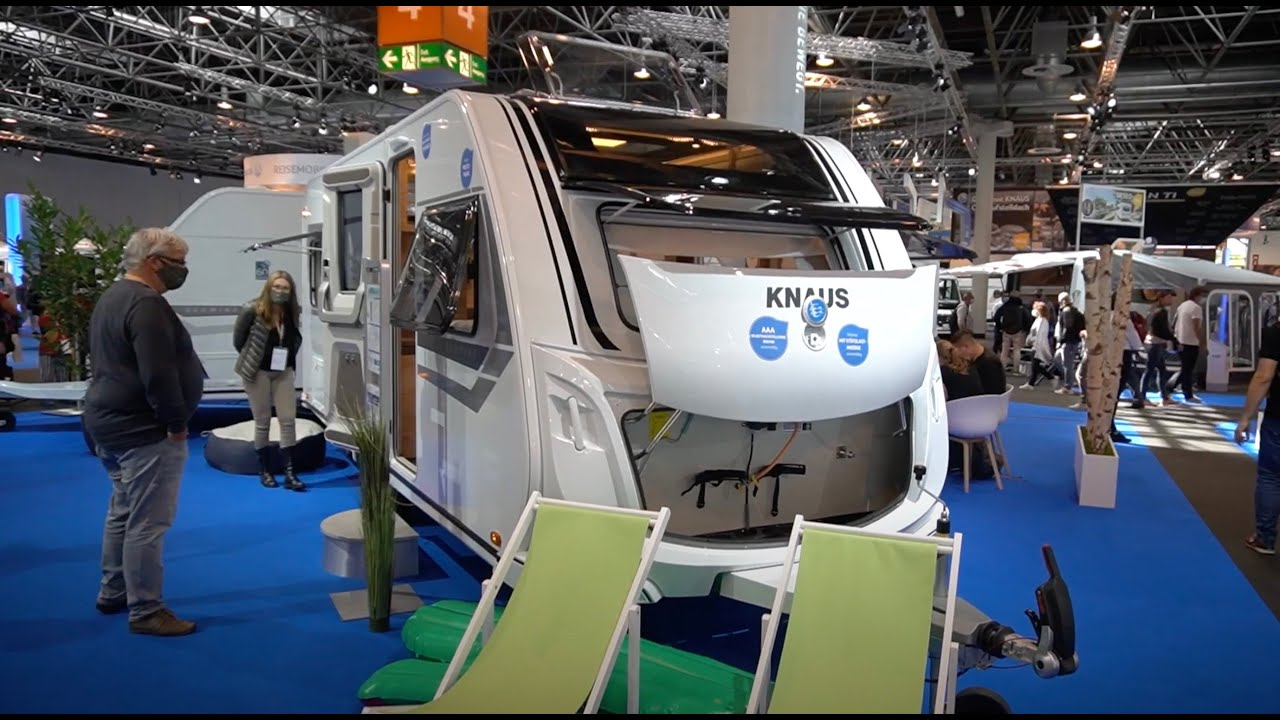 Großer Knaus Messe-Rundgang Caravan Salon 2020 Wohnmobil ...
