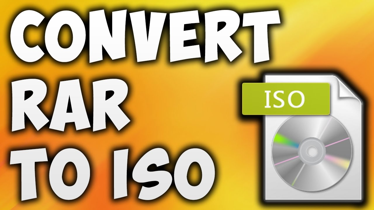 How To Convert Rar To ISO File - Best Rar To ISO Converter Online Free  [BEGINNER'S TUTORIAL]